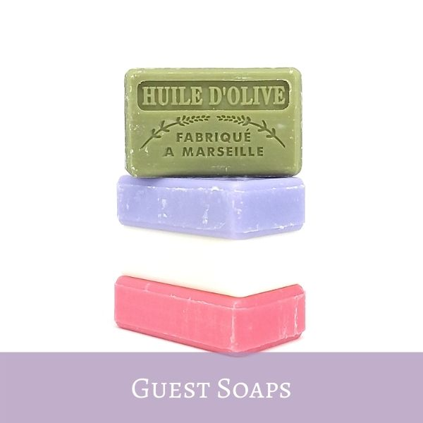 French Guest Soaps