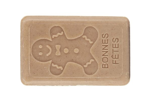125g French Christmas Soap - Gingerbread Man