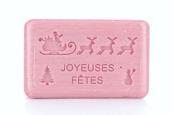 125g French Christmas Soap - Sleigh