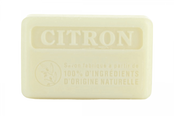 125g Natural French Soap - Lemon