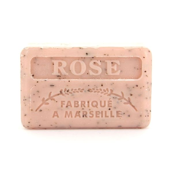 125g Crushed Rose Wholesale French Soap