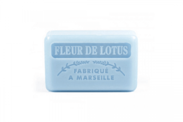 60g French Guest Soap - Lotus Blossom