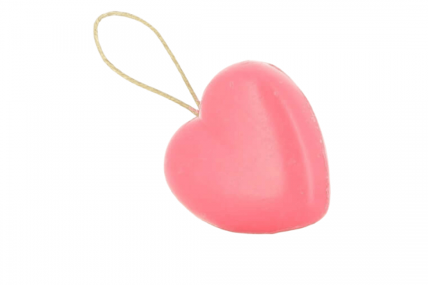 95g Heart Soap On A Rope - I Love You