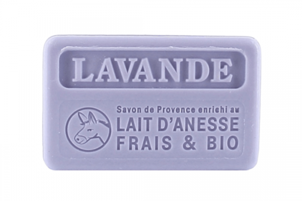 100g Bio Donkey Milk French Soap - Lavender