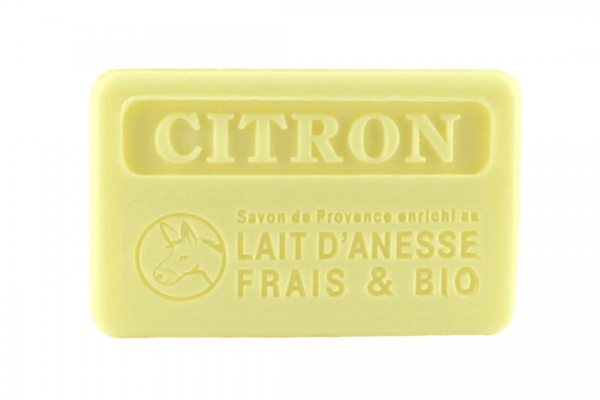 100g Bio Donkey Milk French Soap - Lemon