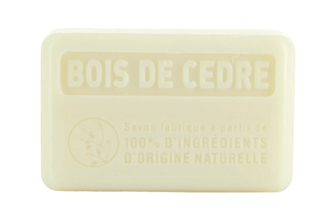 125g Natural French Soap - Cedar Wood
